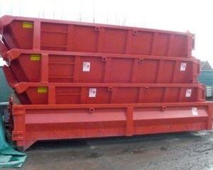 Containers huren de kust